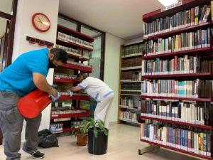 Apertura Bibliotecas Murcia