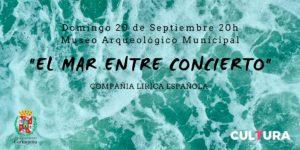 El mar entre concierto en Cartagena